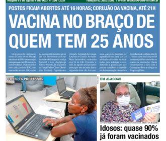 VACINA NO BRAÇO DE QUEM TEM 25 ANOS