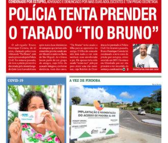 "POLÍCIA TENTA PRENDER O TARADO ""TIO BRUNO"""