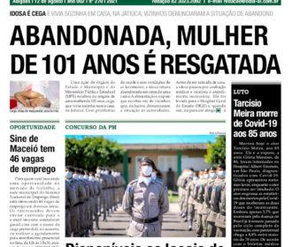 ABANDONADA, MULHER DE 101 ANOS É RESGATADA