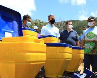 Secretário da Agricultura participa do Festival do Milho e conhece novidades agrícolas em Poço das Trincheiras