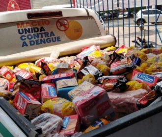 Vigilância Sanitária já retirou de circulação 46 toneladas de alimentos impróprios para consumo