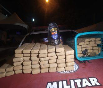 Maceió: PM tira de circulação 700 mil reais em drogas nesta quarta-feira