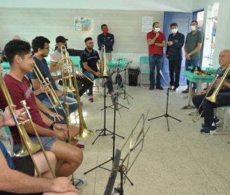 Traipu recebe Oficina Instrumental para Músicos de Bandas