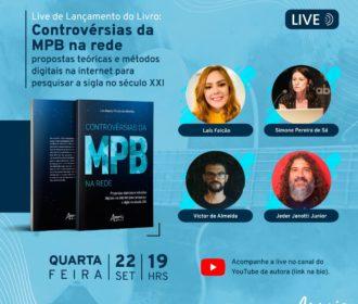 Pesquisadora alagoana lança livro sobre MPB nas redes