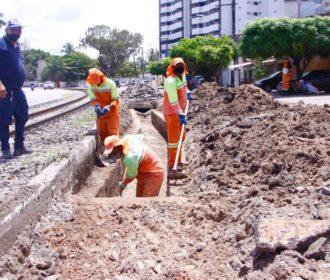 Obras no sistema de drenagem na Avenida Walter Ananias é iniciada