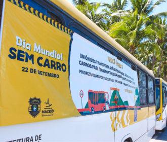 SMTT realiza ações na orla e no Centro durante o Dia Mundial sem Carro