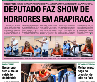 DEPUTADO FAZ SHOW DE HORRORES EM ARAPIRACA