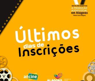 Últimos dias de inscrições do V Prêmio de Incentivo à Produção Audiovisual