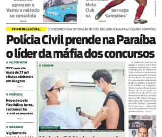 Polícia Civil prende na Paraíba o líder da máfia dos concursos