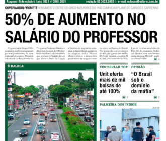 50% DE AUMENTO NO SALÁRIO DO PROFESSOR
