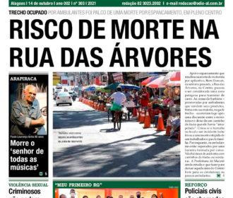 RISCO DE MORTE NA RUA DAS ÁRVORES