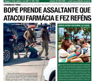 BOPE PRENDE ASSALTANTE QUE ATACOU FARMÁCIA E FEZ REFÉNS