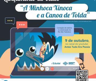 A Minhoca Xinoca e a Canoa de Tolda: educação patrimonial, ambiental e estímulo literário em Piranhas e Pão de Açúcar